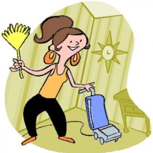 Faccio outing: mi piace fare le pulizie!