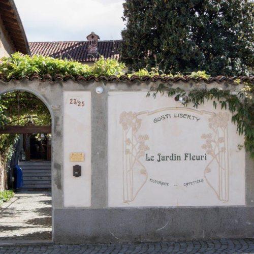 """Dal 21 marzo a Romano Canavese riapre Le Jardin Fleuri """"Gusti Liberty"""".  Un salto nel primo Novecento attraverso la cucina l'arte e la musica"""